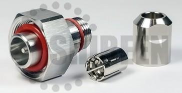 """4.1/9.5 Mini-DIN Male - 1/4"""" SuperFlex Cable"""