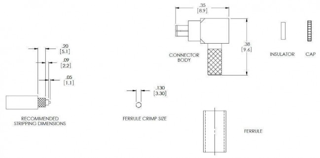 lucent mc card connector