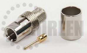 FME Male (Plug) Connector For RG8U / RG213 / LMR400 / LMR400UF / RFC400 / RFC400DB / RFC400UF cables
