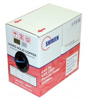 DC-1050 - Indoor CAT5e UTP CMP Plenum Cable - 1000ft Pull Box