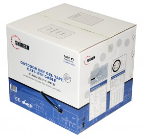 DC-2030 - Outdoor CAT6 UTP - Dry Gel Tape - Outer Jacket - 1000ft Spool