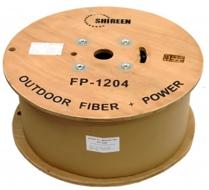 FP-1204 - Fiber & Power Triamese Cable - 3200ft Spool
