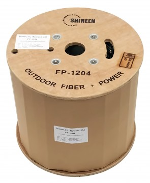 FP-1204 - Fiber & Power Triamese Cable - 1000ft Spool