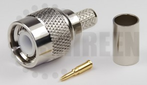 TNC Male Connector For RG58 / RG142 / RG223 / RG400 / LMR195 / RFC195 cables