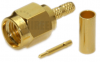 SMA Male Straight Connector for RG316 / RG174A-U / LMR100A / RFC100A cables