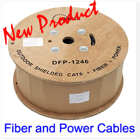 Fiber and Power Cables
